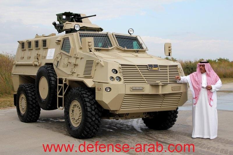 Masmac - a new armor vehicle for Saudi Arabia