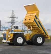 BelAZ with a remote control