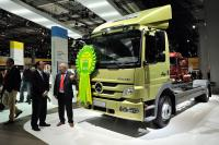 "Mercedes-Benz Atego is ""Truck of the Year 2011"""