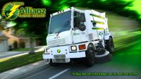 NYC gets world 1st electric hybrid street sweeper
