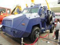 CNHTC has presented armored vehicle for army