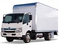 The first cab over Hino trucks for the US market
