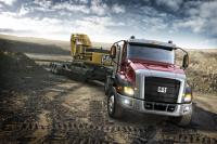 Announce of a new Caterpillar vocational truck for USA