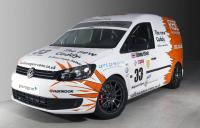Volkswagen Caddy ready to take the track