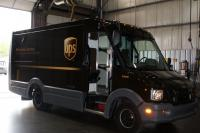 UPS express delivery is testing plastic vans