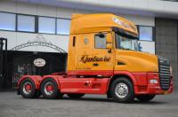 Exclusive DAF XT to anniversary of a transport company
