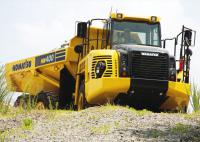 Komatsu has shown the updated dump truck HM400-3
