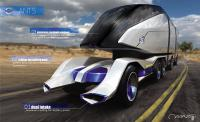 Design-project of a future long distance Volvo truck