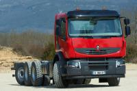 8x4*4 configuration chassis by Renault Trucks