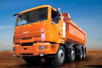 CVE 2012: Dumptrucks MZKT 750100 with a new face