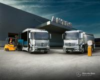 Mercedes-Benz Antos will make its debut at the IAA Commercial Vehicle show in September