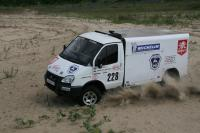 "Offroad Sobol-Business has successfully finished at the rally-raid ""Silk Way"""