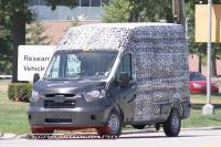First look at U.S.-spec Ford Transit snapped