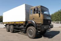 Russian Defence Expo 2012: New flatbed truck Ural 5390