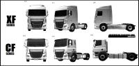 Patent pictures of a new DAF CF