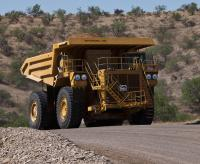 Unit Rig MT4400D AC Mining Truck transformed with Cat integrated technologies