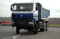 MAZ-MAN has presented a new version of dump truck in Surgut