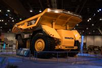 Komatsu presents Innovative Autonomous Haulage Vehicle at MineExpo 2016