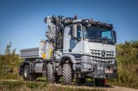 IAA 2016: Paul tranforms 4-axle Arocs to a 3-axle AWD Arocs 4151 AK 6x6