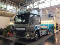 Emoss company presents a hybrid tractor E.V.E.R based on a DAF CF