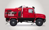 MAZ SPORTauto racing team announced a new bonneted racing truck MAZ 6440RR