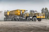 Dramis D150T is the newest 10x10 tractor for mining industry