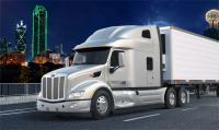 Peterbilt showcased the most spacious cabin UltraLoft for the 579