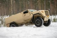 Sisu tests MRAP vehicle for Latvia