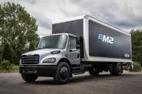 Electric delivery truck Freightliner eM2 will have a range of 250 miles