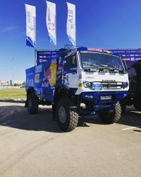 KamAZ-MASTER showcased a new generation of racing trucks