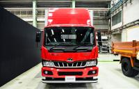 Mahindra unveiled the medium-range Furio truck designed by Pininfarina