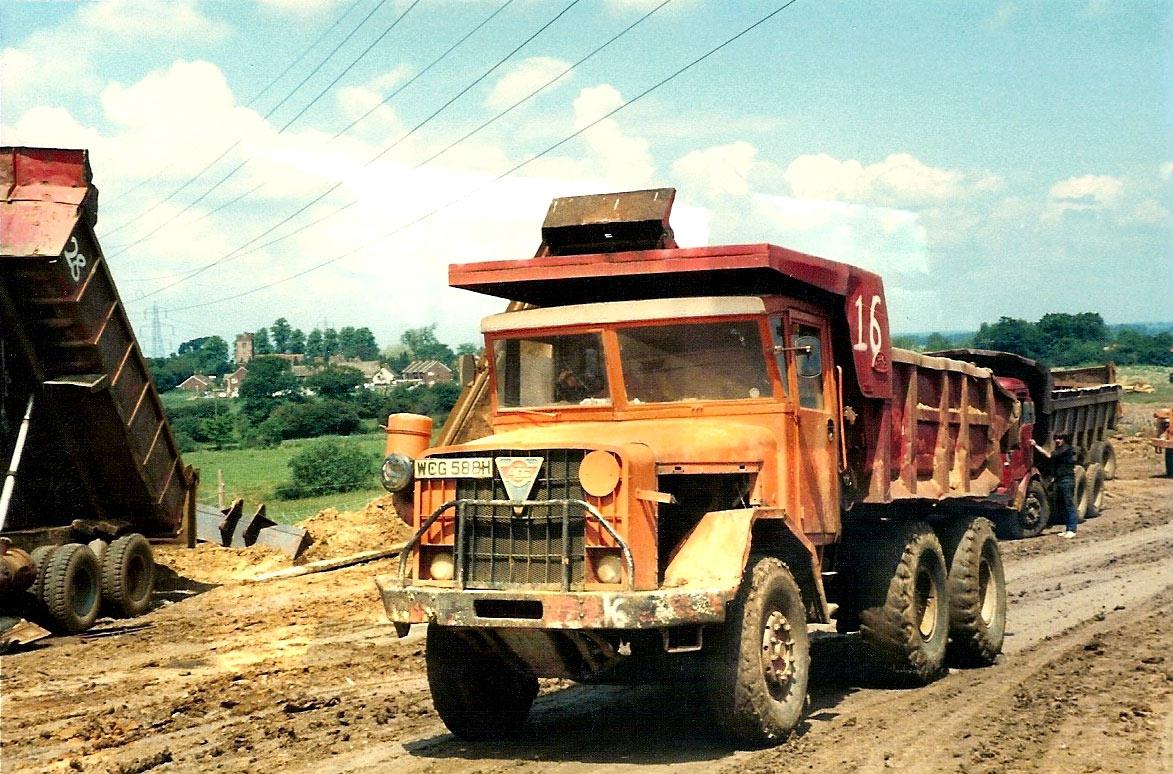 Aec 690 Dumptruck 10 Cu Yd Model Bdk6r Offroad Vehicles 1961 Ford Dump Truck