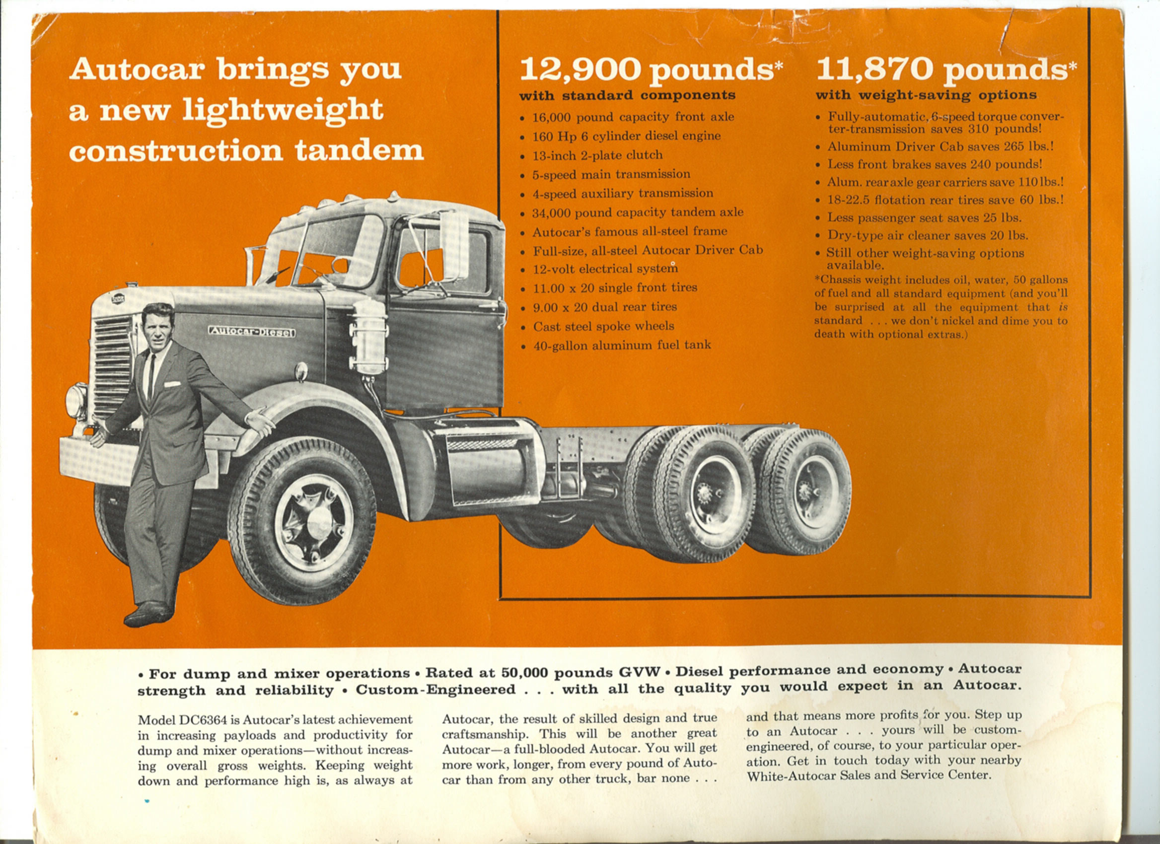 Autocar DC-6364 (Commercial vehicles) - Trucksplanet