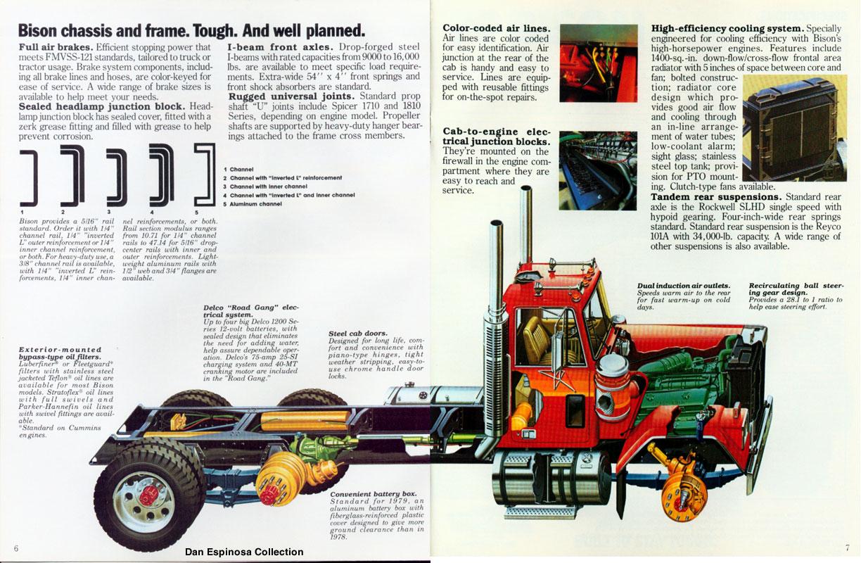 1980 Chevrolet Bison Truck//Tractor Sales Brochure