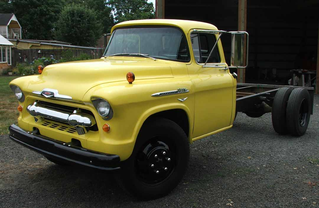 Chevrolet Series 4000 6000 8000 10000 55 Commercial Vehicles