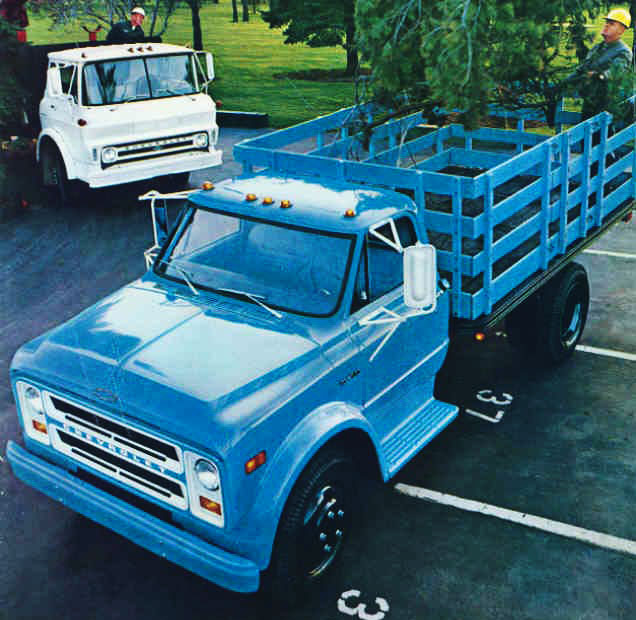 1969 Chevy Truck For Sale >> Chevrolet Series 40 / 50 / 60 '67 (Commercial vehicles) - Trucksplanet