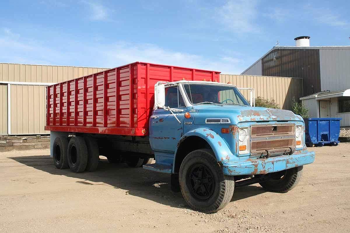 ... Series 40 / 50 / 60 '67. 1968 Chevy C60 Dump Truck, 1969 Chevy C60 Dump  Truck ...
