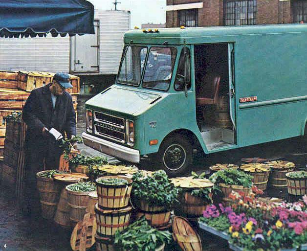 Chevrolet Step-Van King '68 (Commercial vehicles) - Trucksplanet