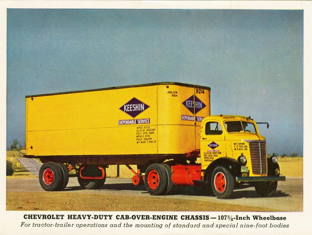 Chevrolet Series V W Coe Commercial Vehicles Trucksplanet 1941 Gmc Truck