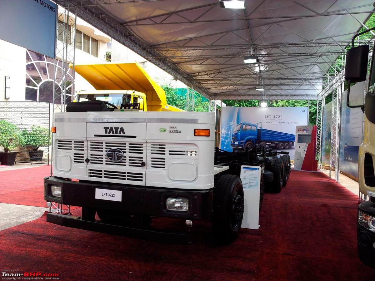 Tata presented 6 new heavy trucks