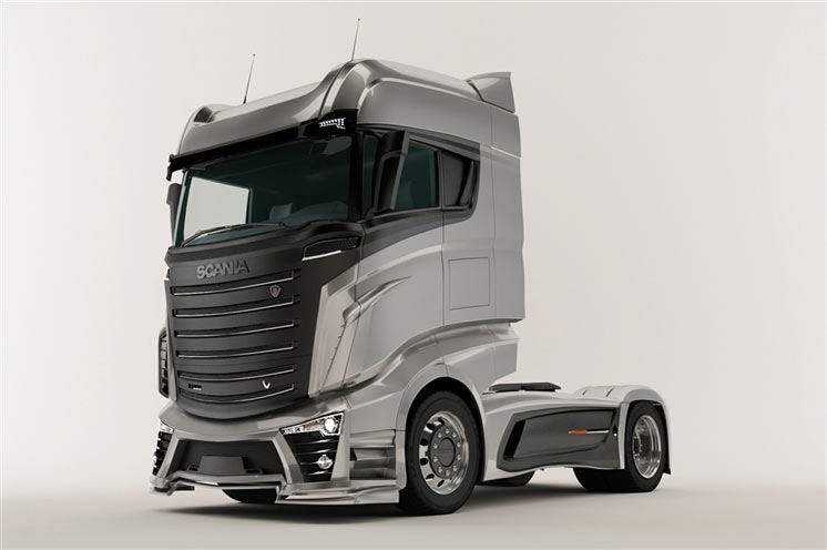 What Could Be The Scania Trucks Of Near Future
