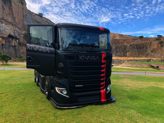 Scania R900 KIVARA is the crasiest tractor from South Africa