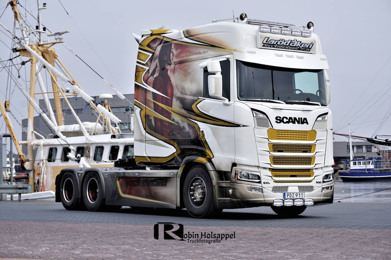Scania SLX Longline is the first new generation Scania