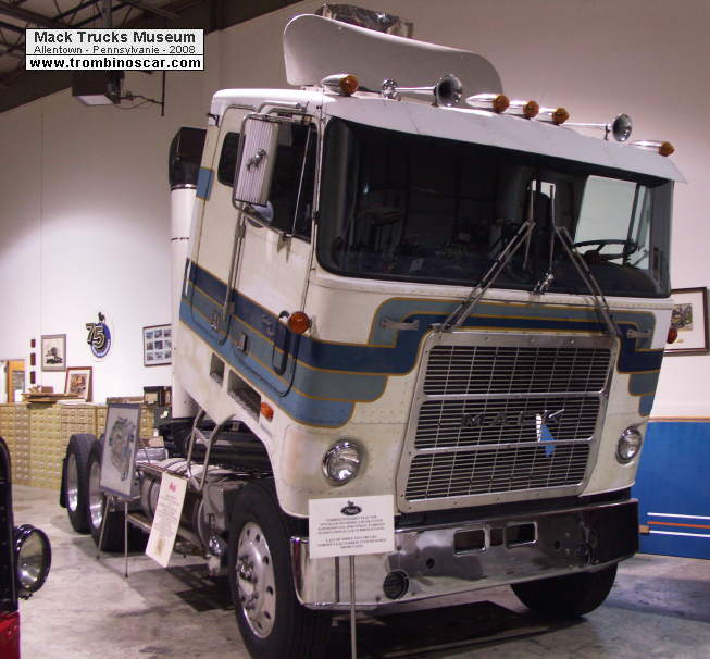 Mack Truck Concept : Mack ws lst gas turbine truck concept vehicles