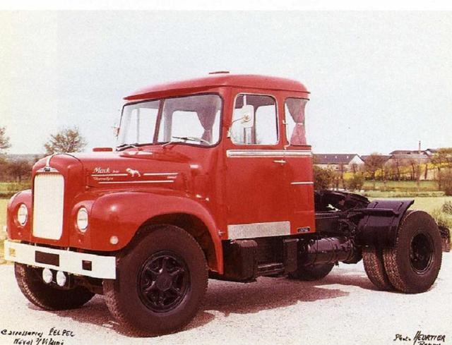 Mack Trucks B61 Models : Mack b commercial vehicles trucksplanet
