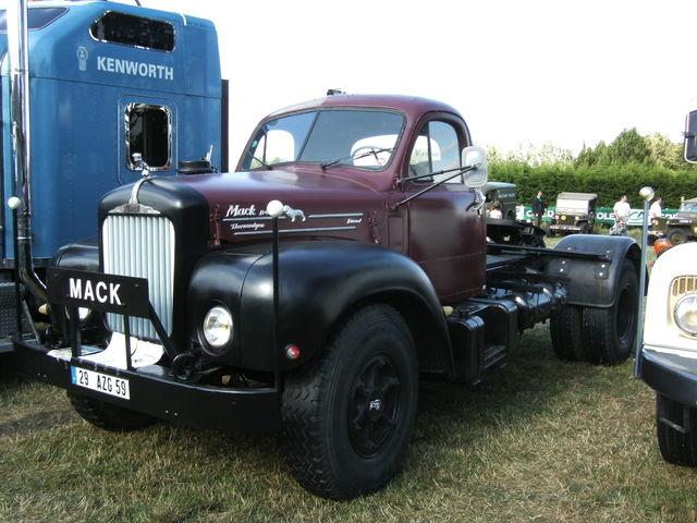 B 61 Mack Trucks : Mack b commercial vehicles trucksplanet