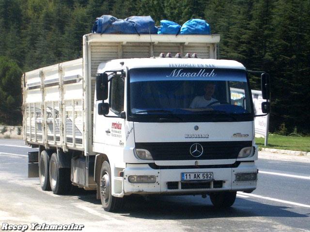 Trucksplanet updates for Mercedes benz turkey
