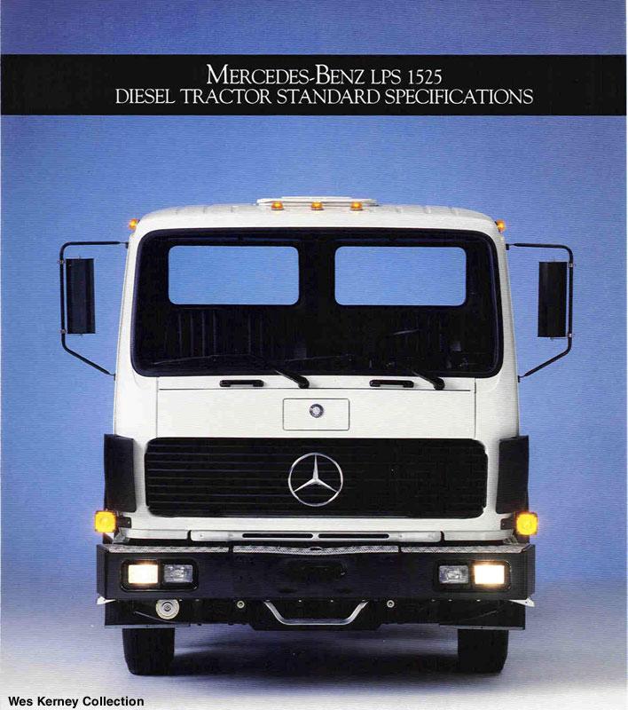 Mercedes Benz Lp1219 Lp1419 Lps1525 Commercial Vehicles Trucksplanet