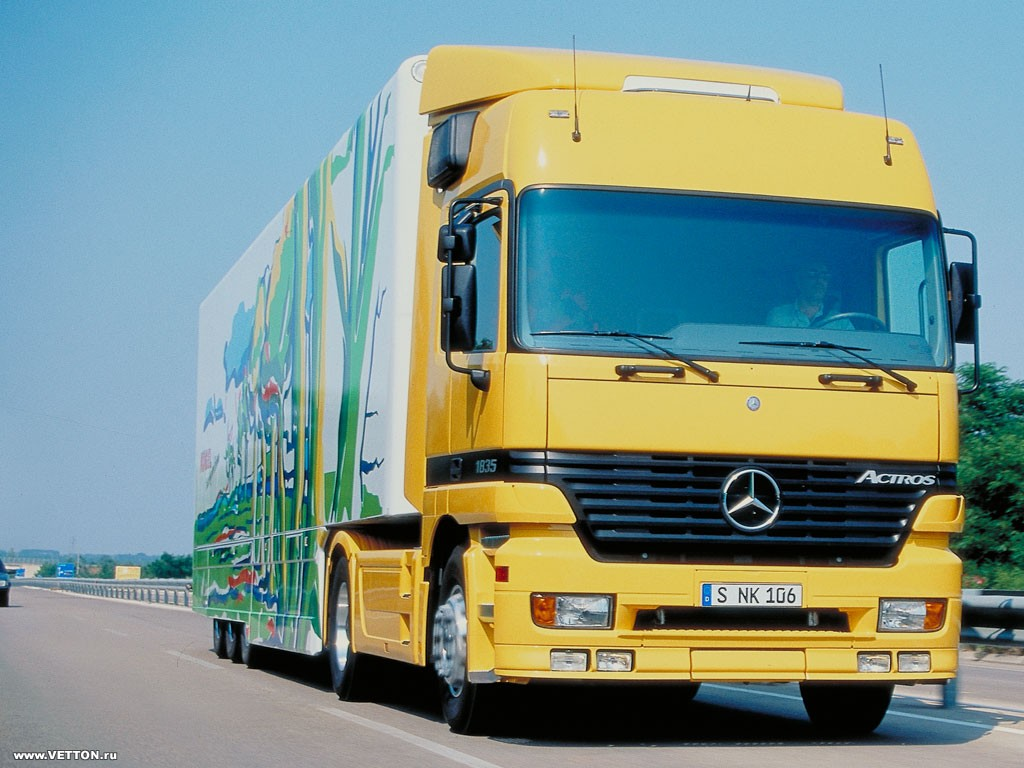 Mercedes Benz Actros Mp1 Commercial Vehicles Trucksplanet Wiring Diagram