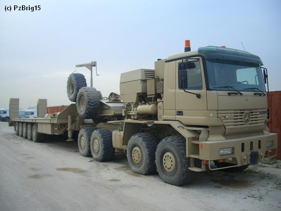 Mercedes benz actros mp1 military vehicles trucksplanet for Mercedes benz military vehicles